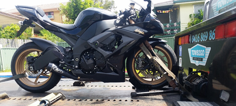 Motorcycle Towing | Gold Coast | Tows 2 Go